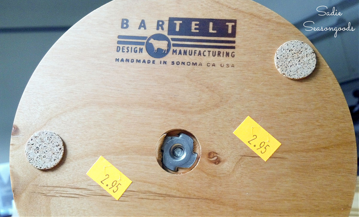 Coffee cup stand that was made by Bartelt Design Manufacturing
