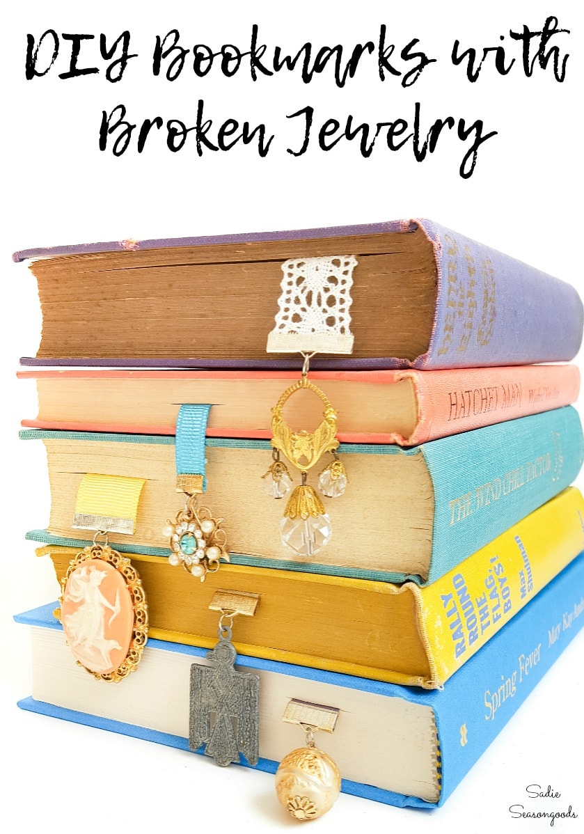 Craft ideas for broken jewelry