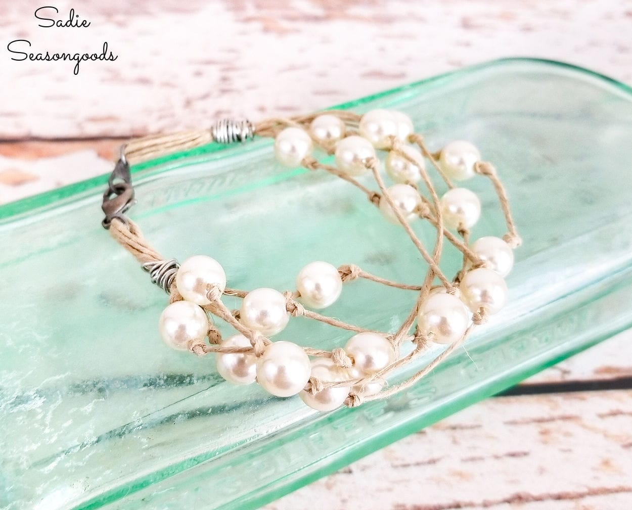 boho bracelet and beach themed jewelry