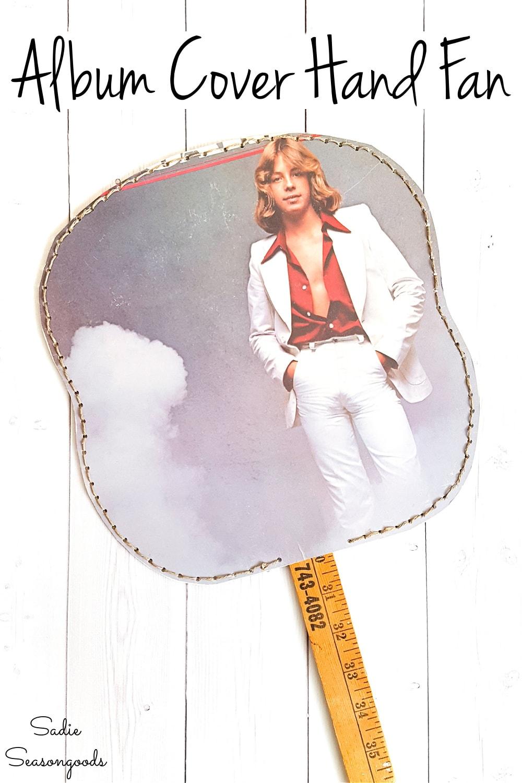 crafting with a retro album cover
