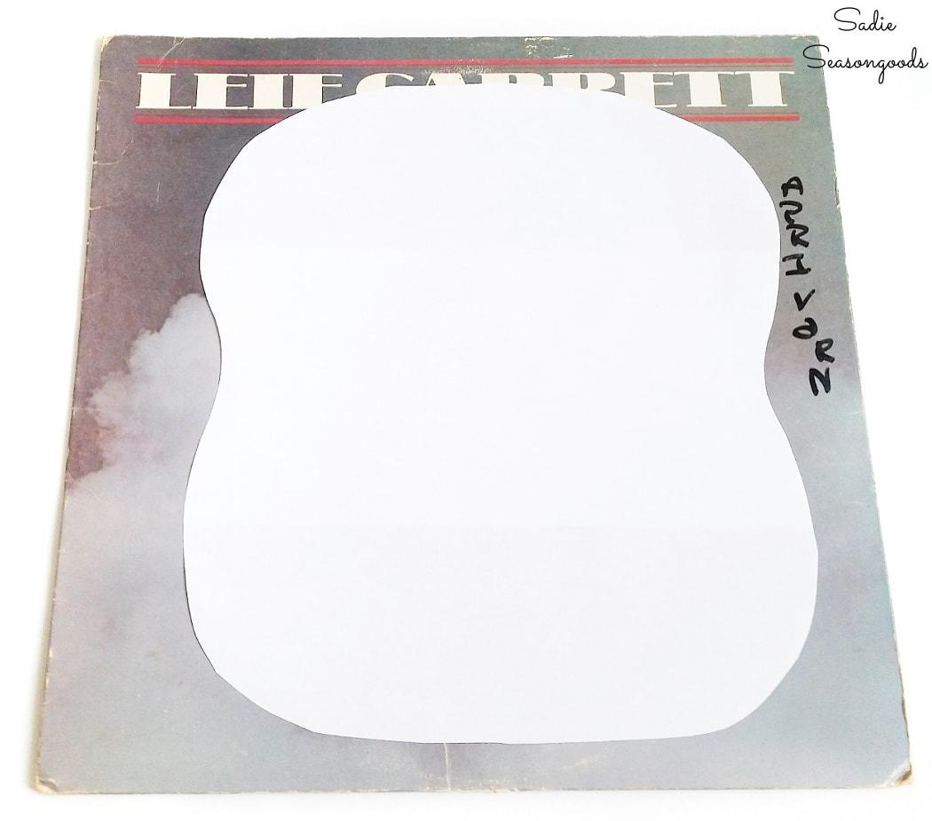 paper template of a DIY hand fan