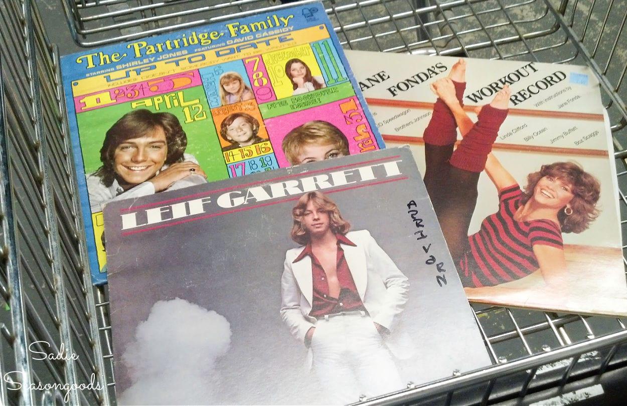 retro album covers