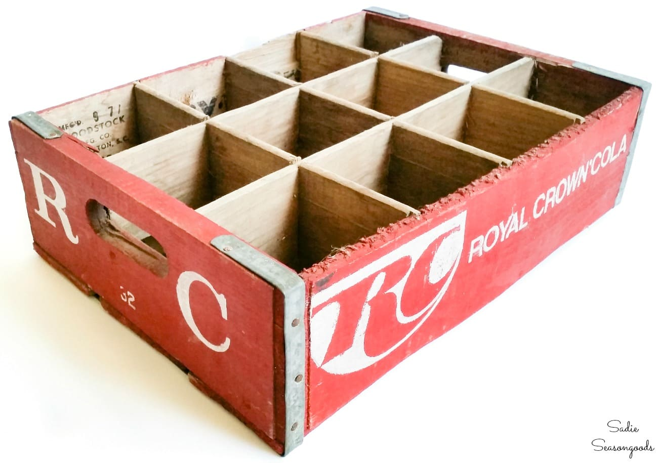 Soda crate for RC Cola