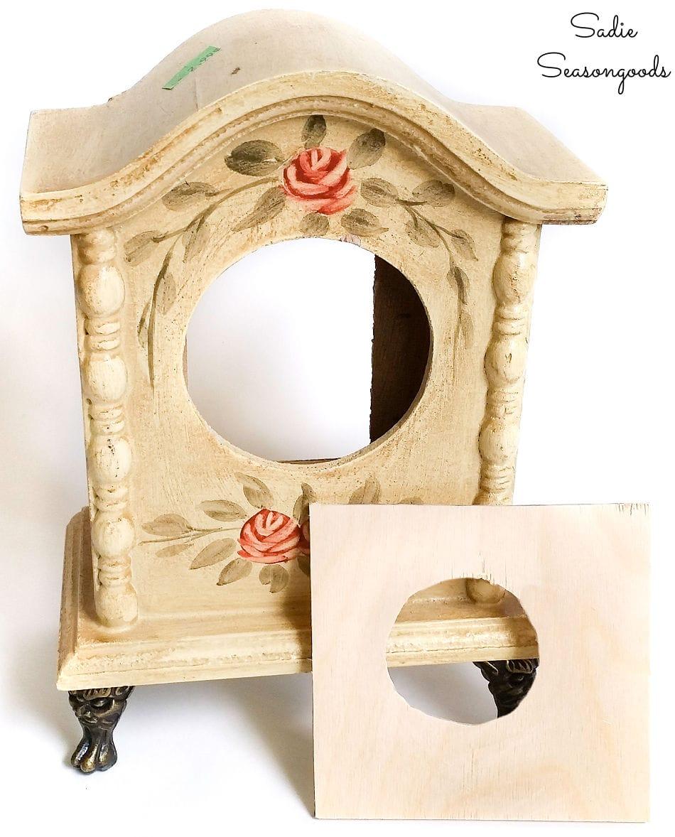 Making a smaller birdhouse entrance hole
