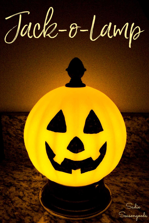 light up pumpkin