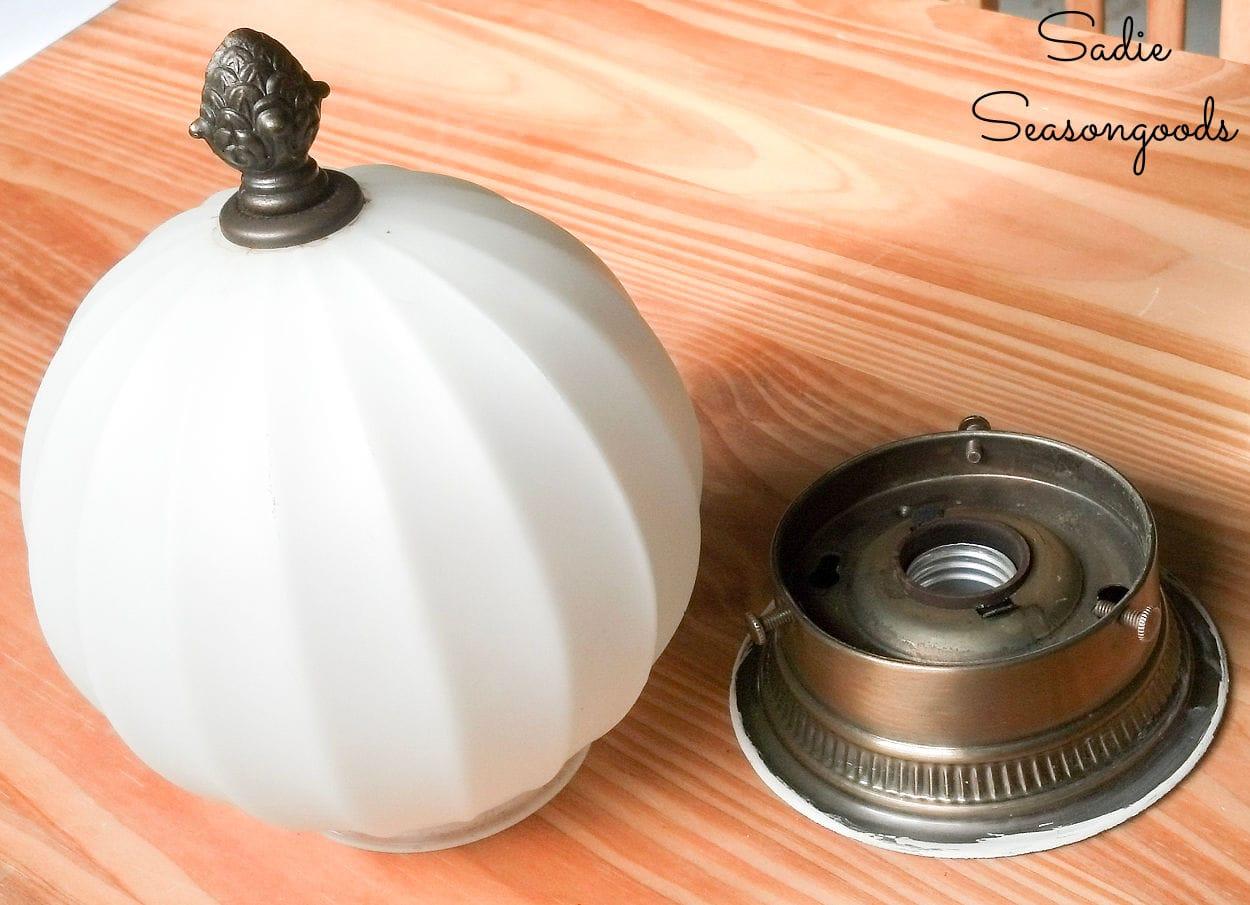 making a light up pumpkin