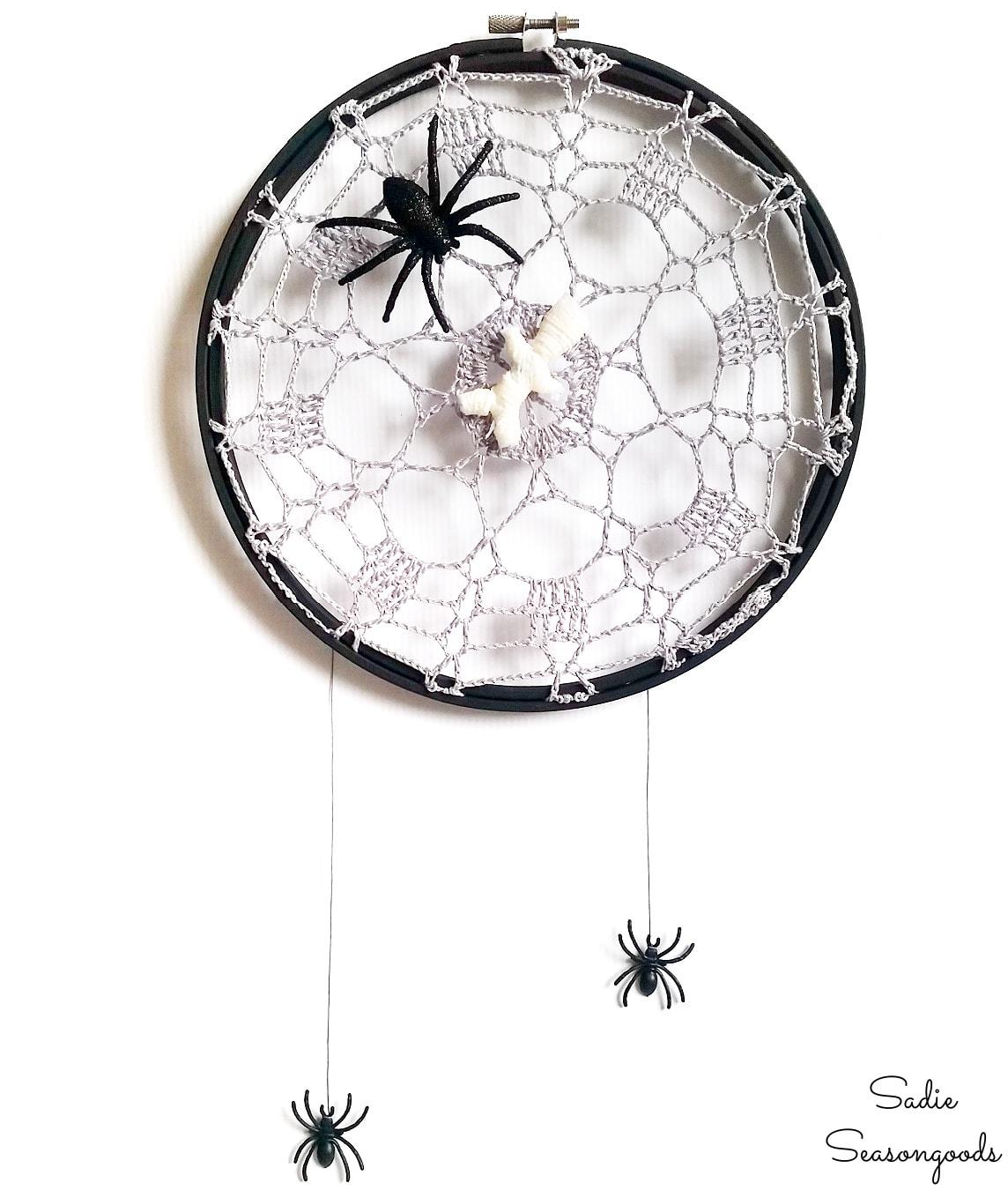 Spider Web Decor for Halloween