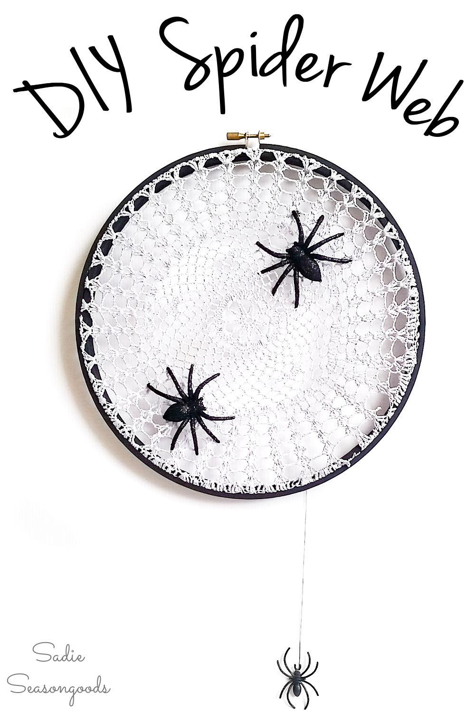 spider web doily