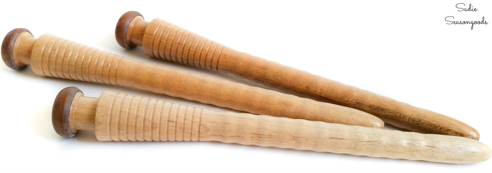 Weaving bobbins or pirns