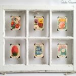 Window Shopping: Vintage Seed Packet Display