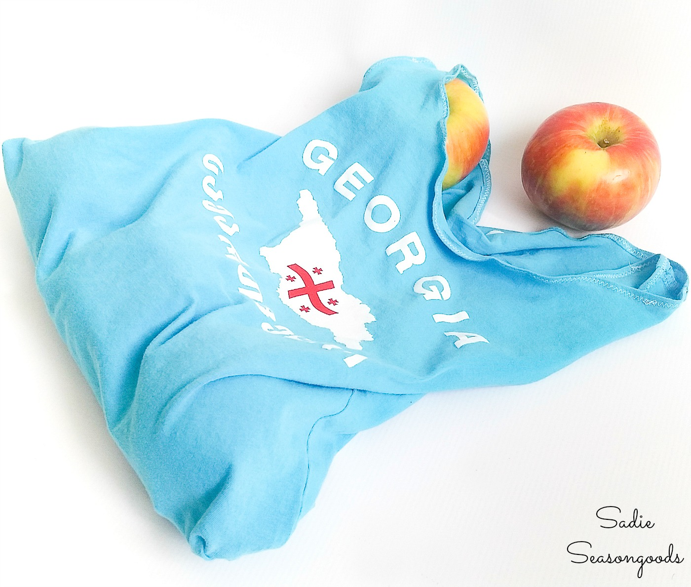 Cloth Produce Bags for Fruit and Vegetables from Kids T-Shirts