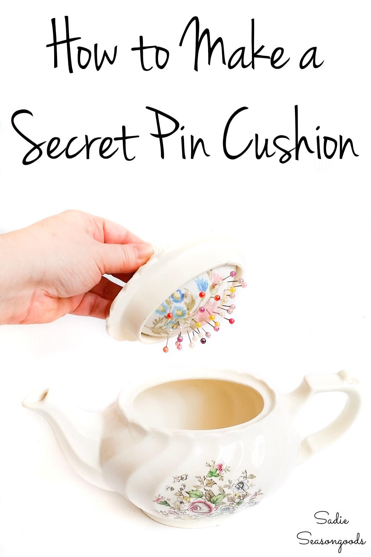 how to make a diy pin cushion