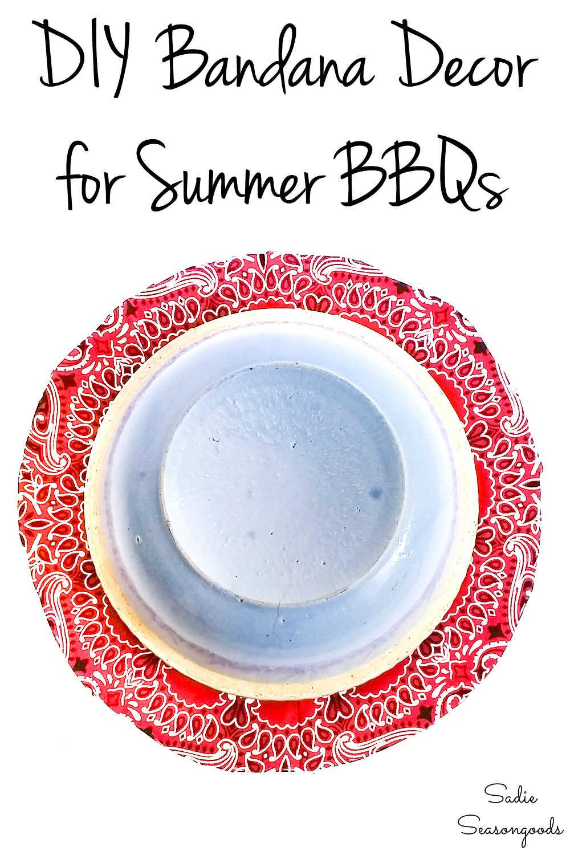 bandana decor for summer