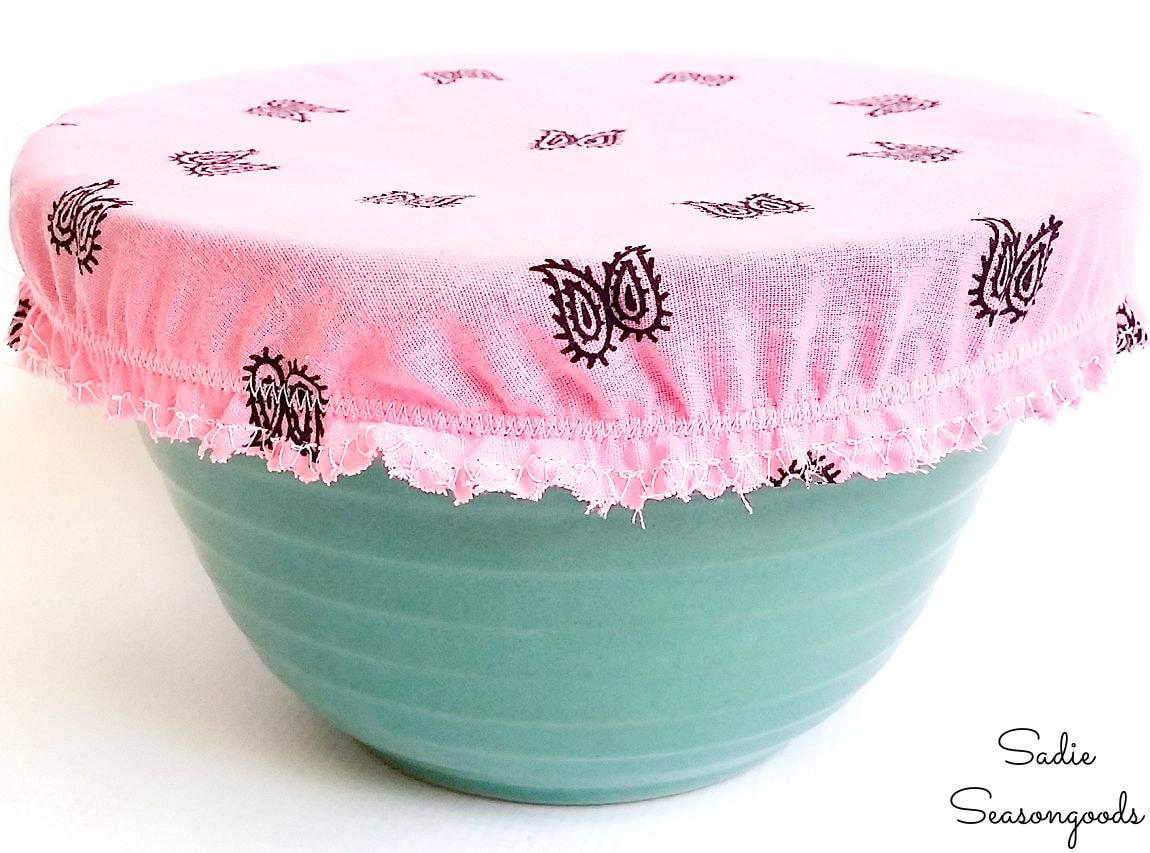 cloth bowl cover and bandana craft