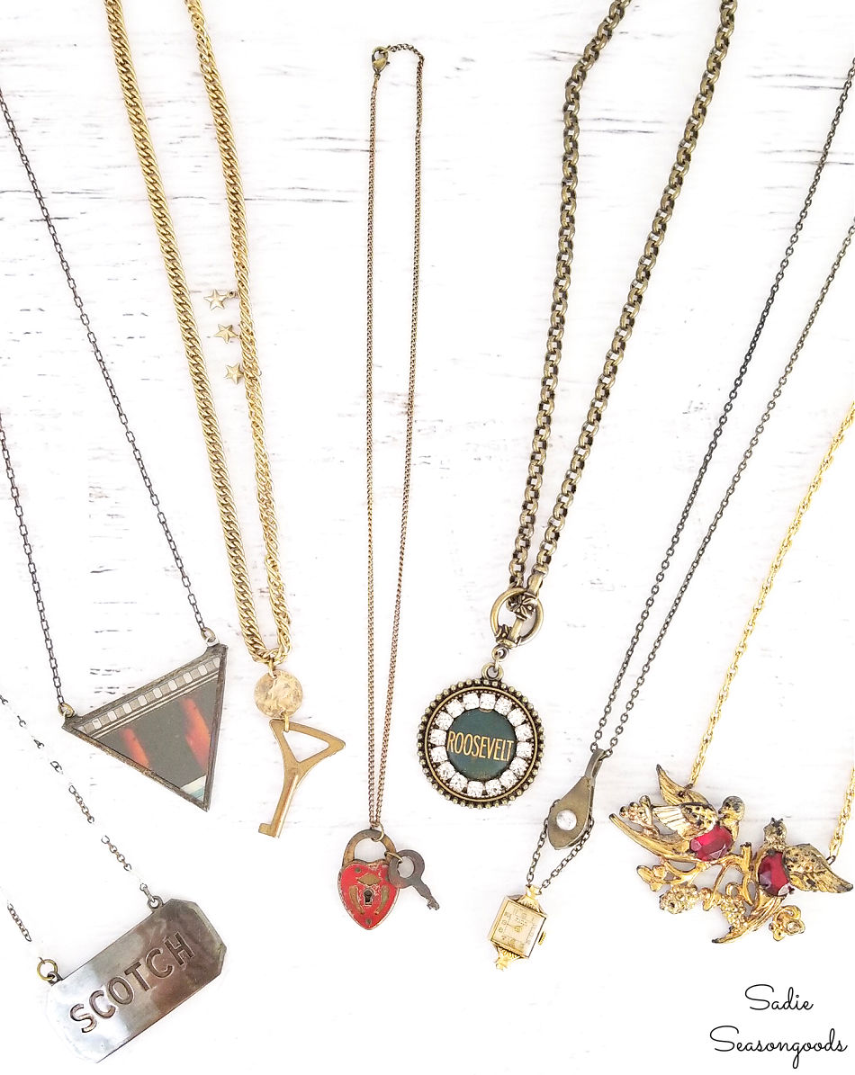 repurpose old jewelry