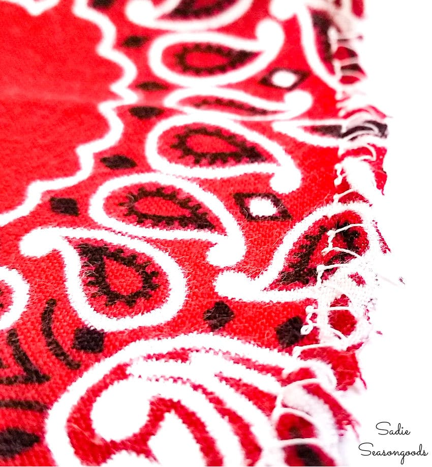 stop fraying with an overedge stitch