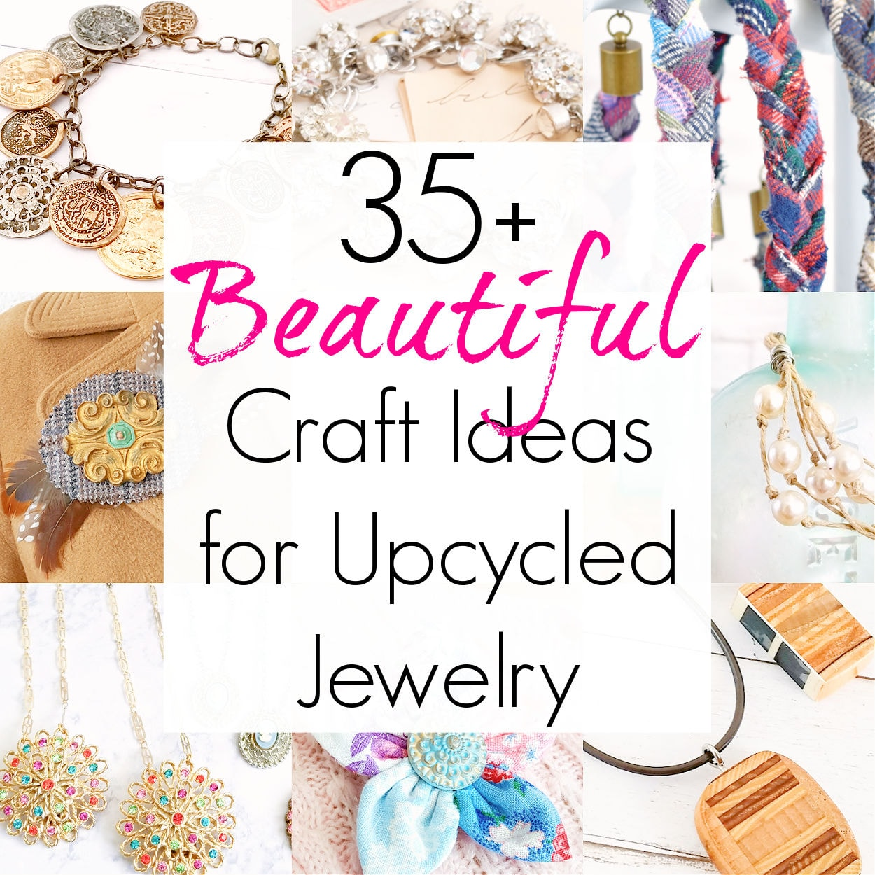 35+ DIY Ideas for Upcycled Jewelry
