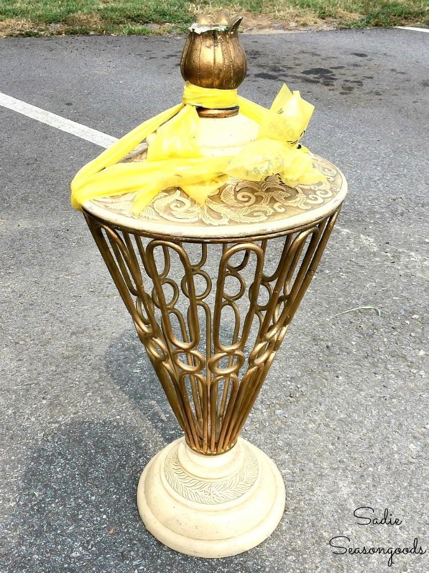 Garden urn from Habitat ReStore