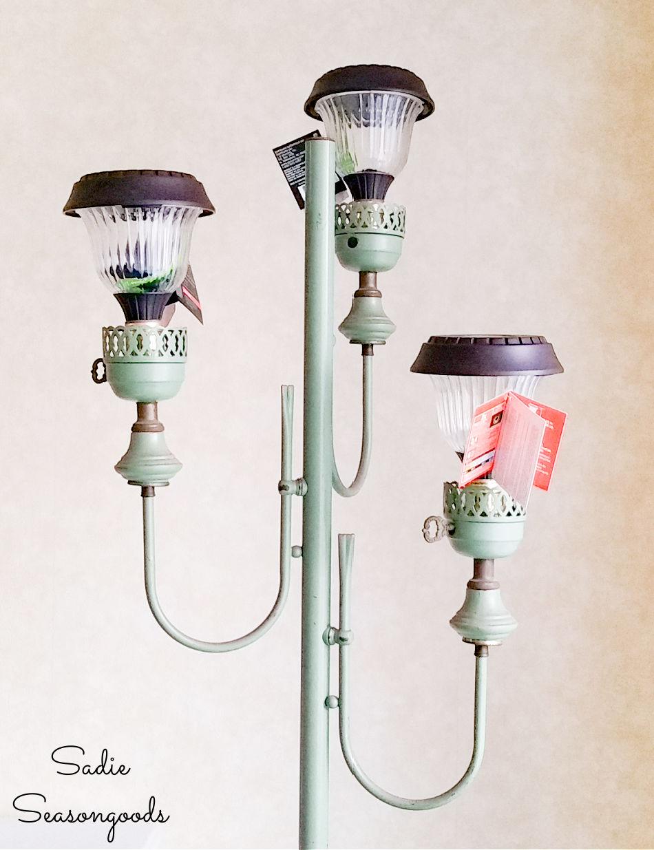 how to make an outdoor solar floor lamp