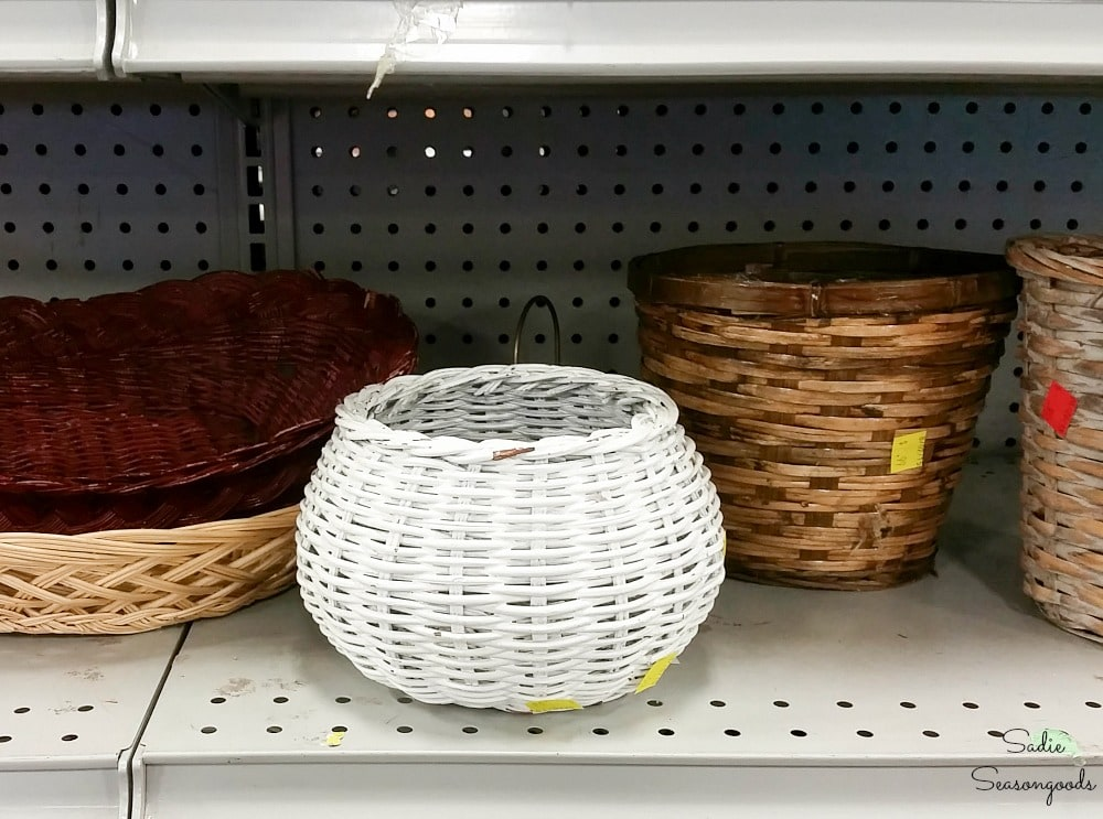Basket bowl at Goodwill thrift store