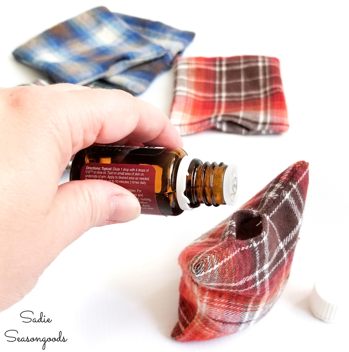 Essential oils for the reusable hand warmers