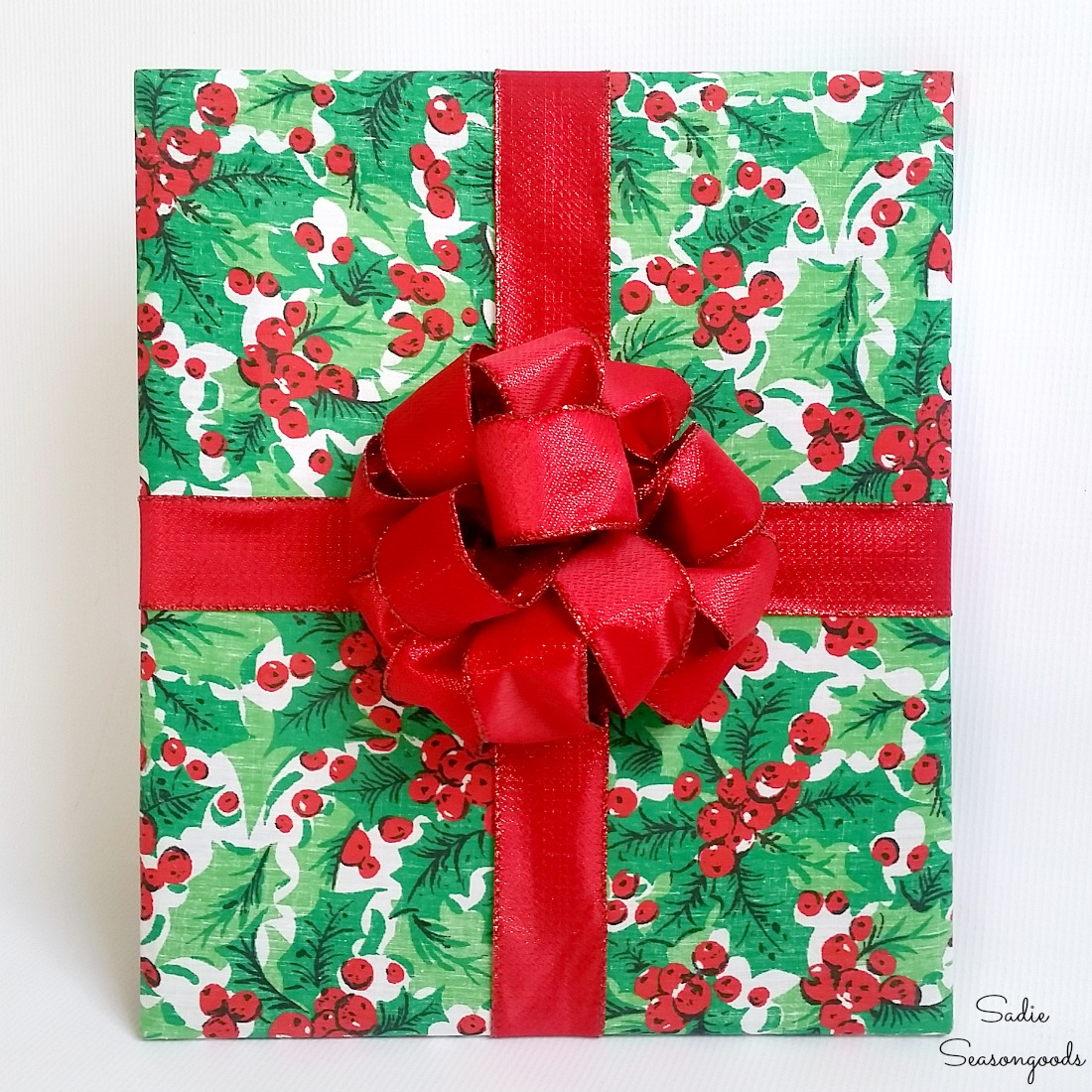 Cheap Christmas Decorations that Look Like Wrapped Gifts