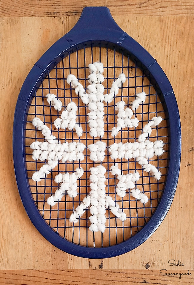 Christmas cross stich pattern for snowflake