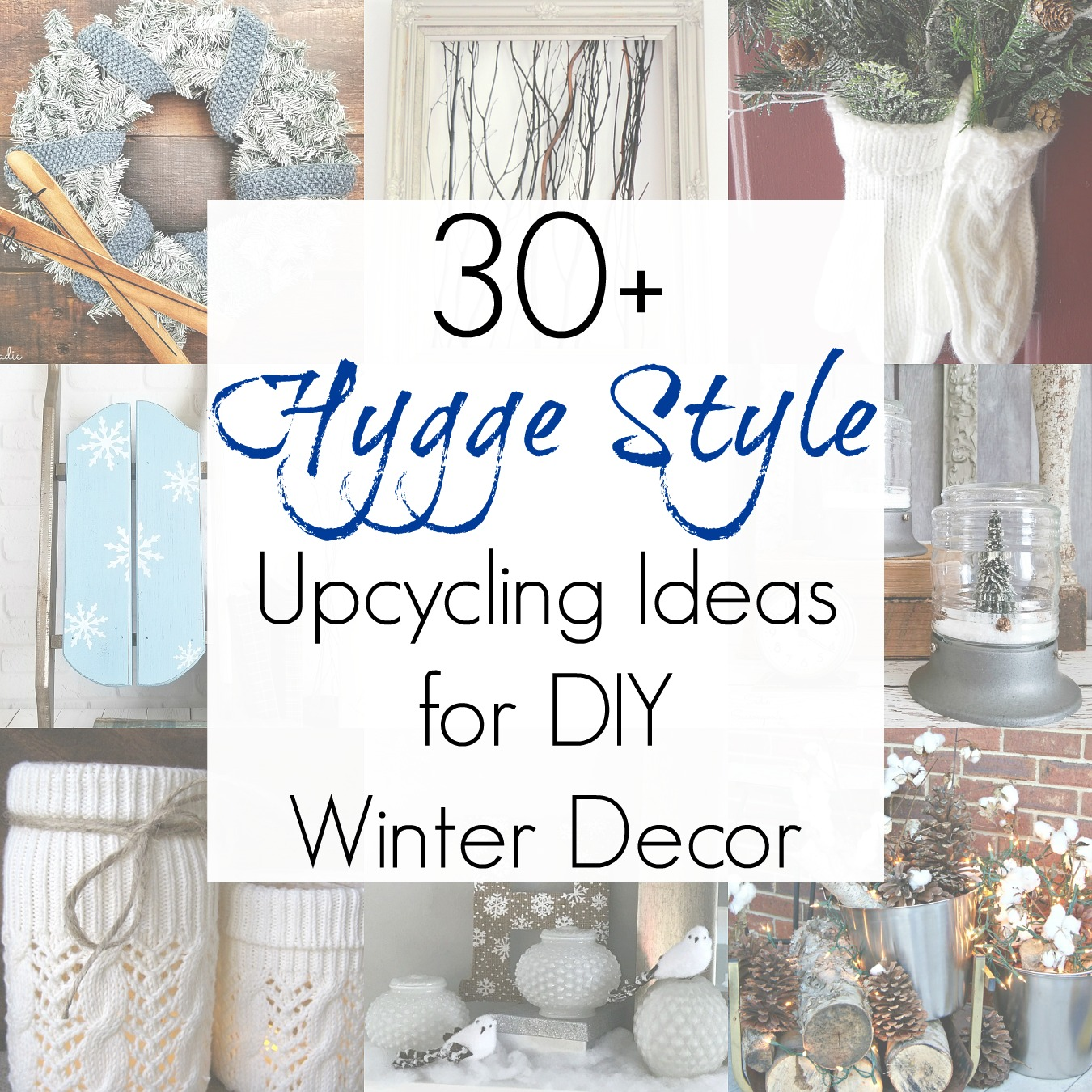 Winter Decor Ideas and Non Christmas Winter Decorations for Hyggelig