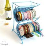 "Wine Rack to Ribbon ""Cradle"""