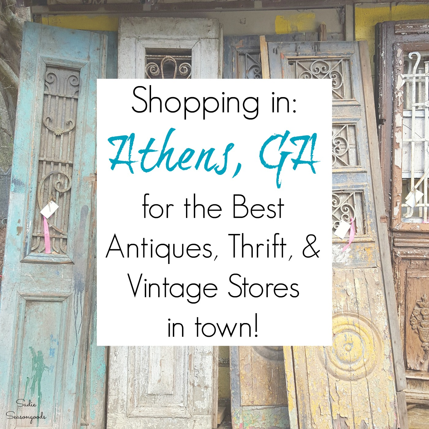 Shopping in Athens, GA: Best Antiques, Vintage, Architectural Salvage, and Thrift Stores