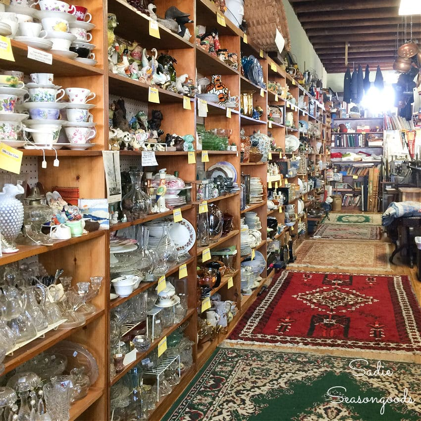 shopping in athens ga for antiques