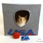 Repurposed Kit-T-Shirts: Cat Cave and Fun Toys