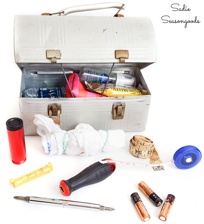 car emergency kit list for yard saling