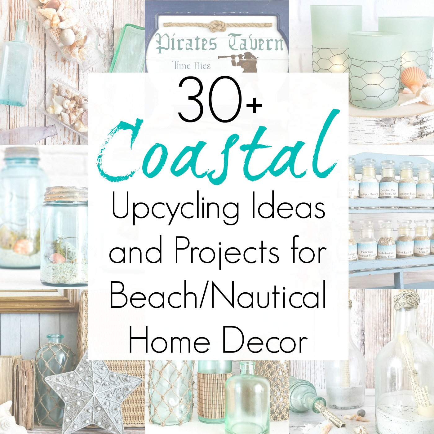 Upcycling Ideas for Beach Home Decor and Coastal Crafts
