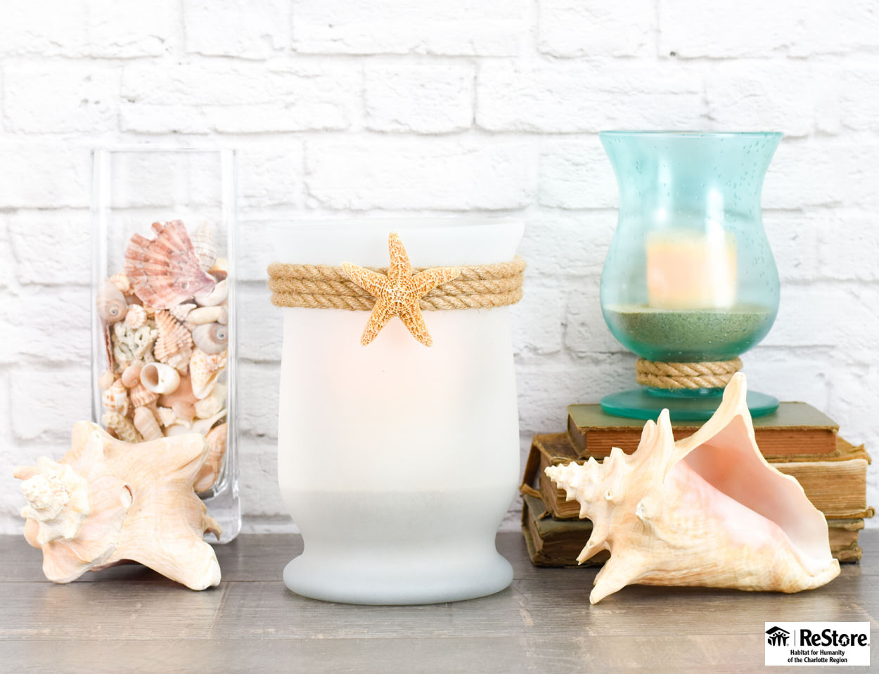 coastal candleholders from habitat restore