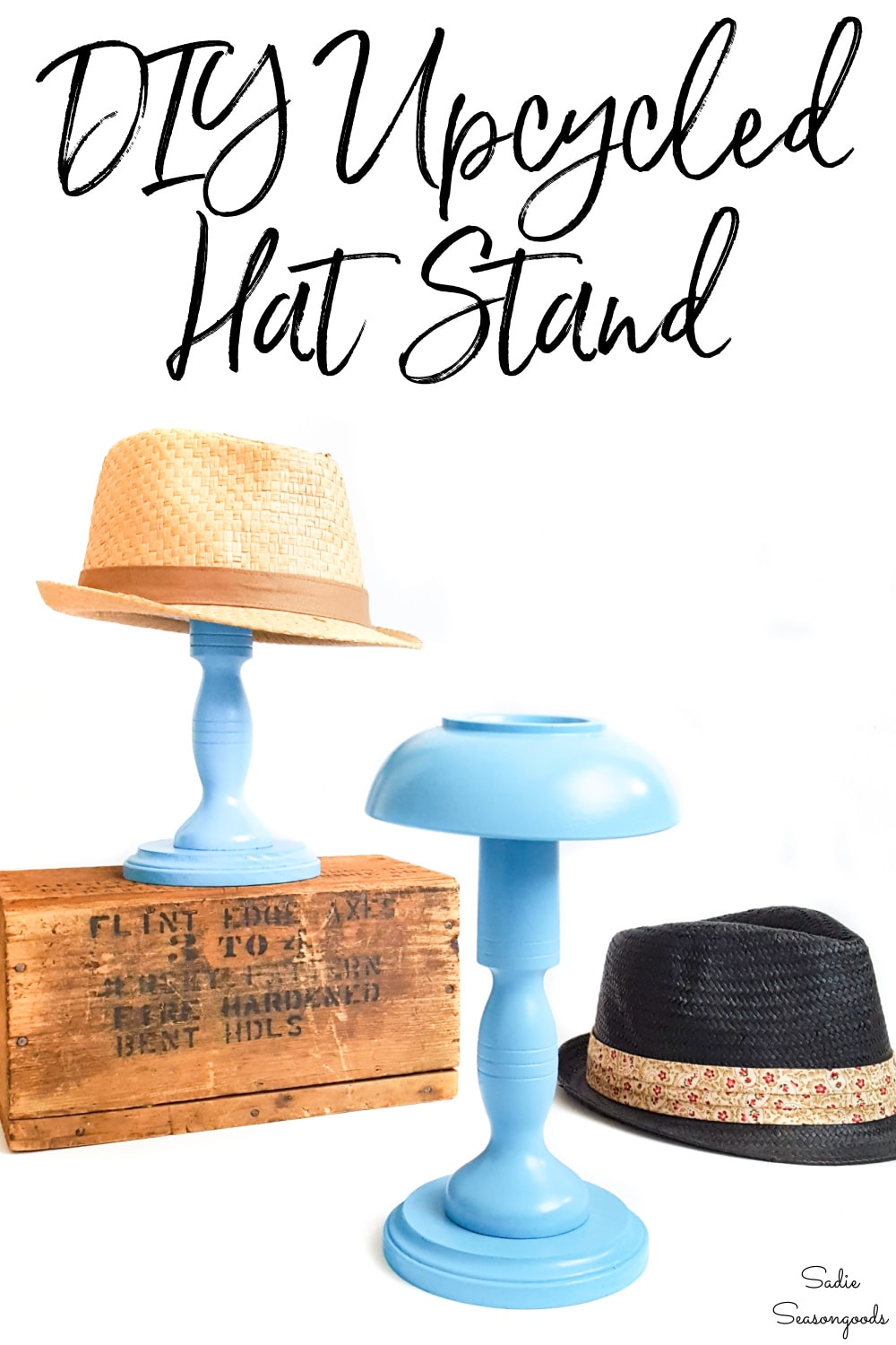 how to make a DIY hat stand