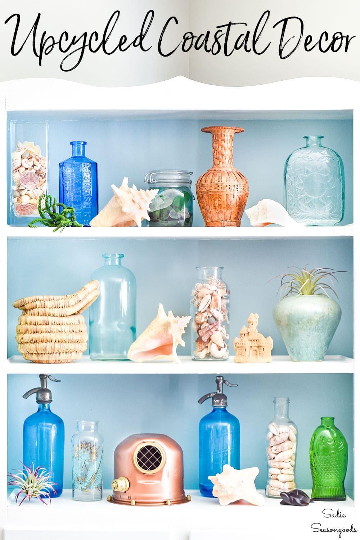 upcycling ideas for coastal decor