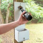 How to Make a Bottle Cap Catcher for a Wall Mounted Bottle Opener