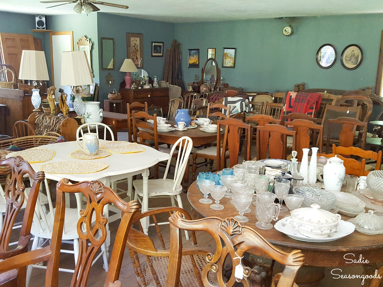 Antique stores in Boone NC at Possom Hollow Antiques for used furniture