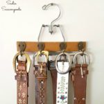 Related Repurposing: Trouser Hanger Turned Belt Organizer