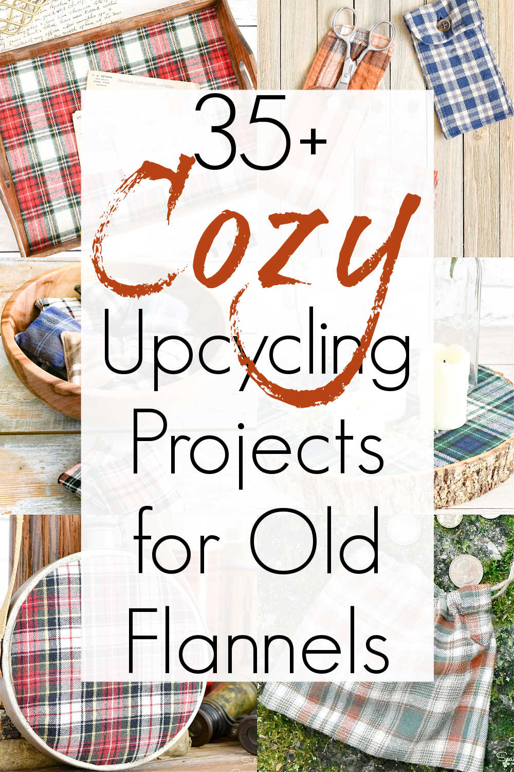 flannel projects for upcycled flannel shirts