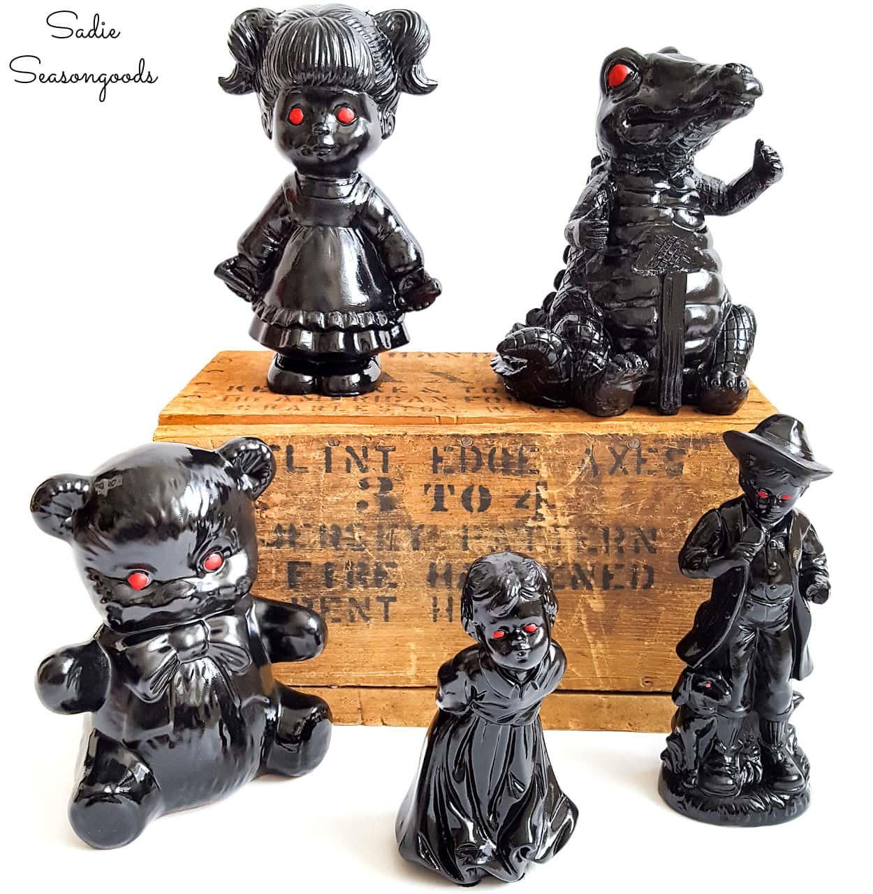 Halloween Figurines for Spooky Decor