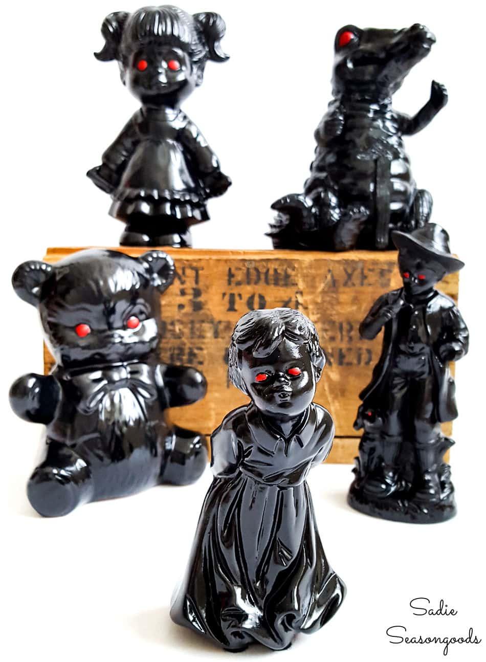 halloween figurines