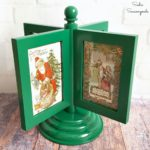 Vintage Christmas Cards in a Multi Photo Frame