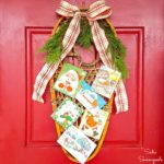 Rustic Christmas Decor with a Vintage Snow Shoe