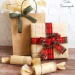 Eco-friendly Ideas for Christmas Gift Wrap with Sewing Pattern Paper