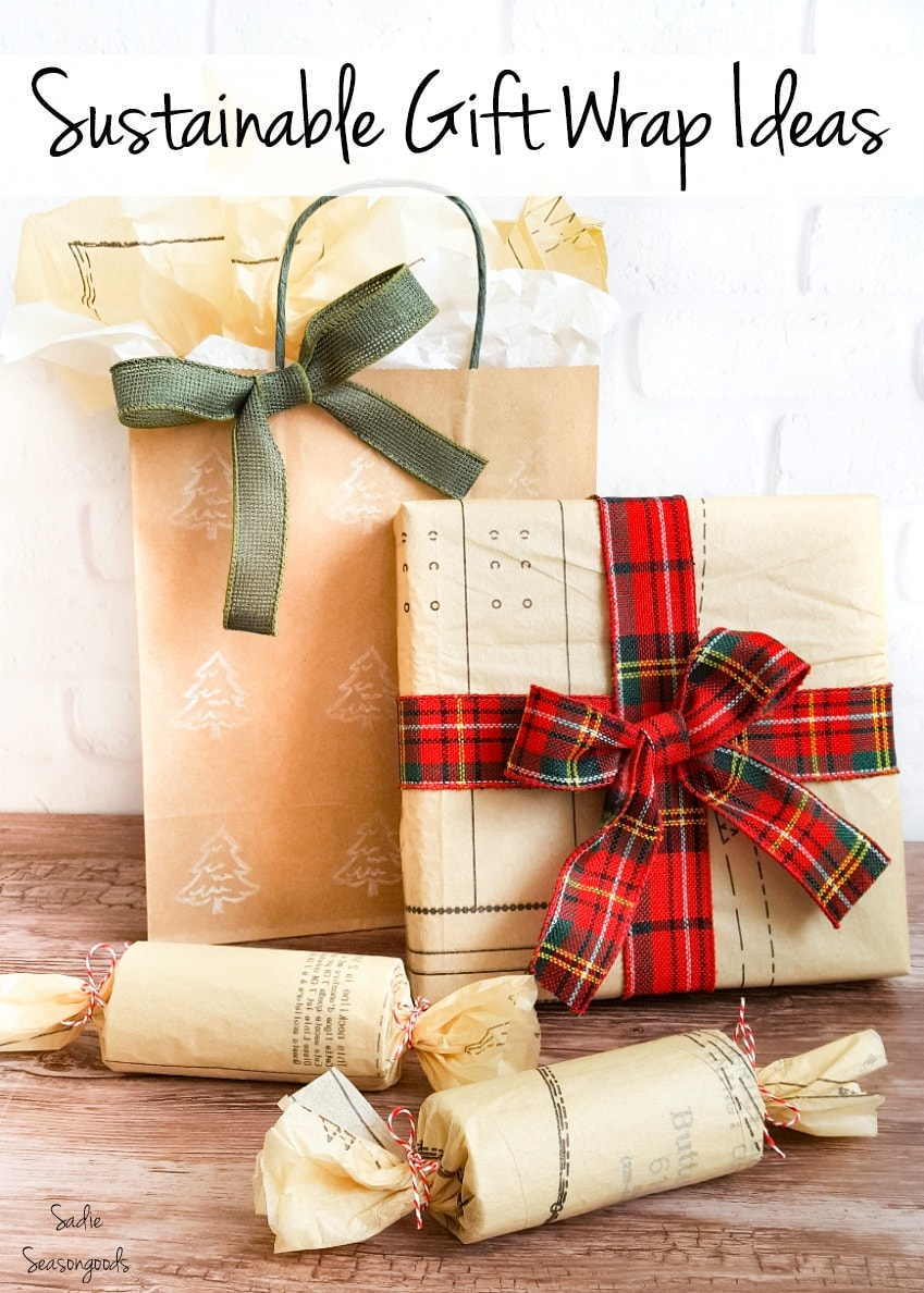 DIY ideas for sustainable gift wrapping