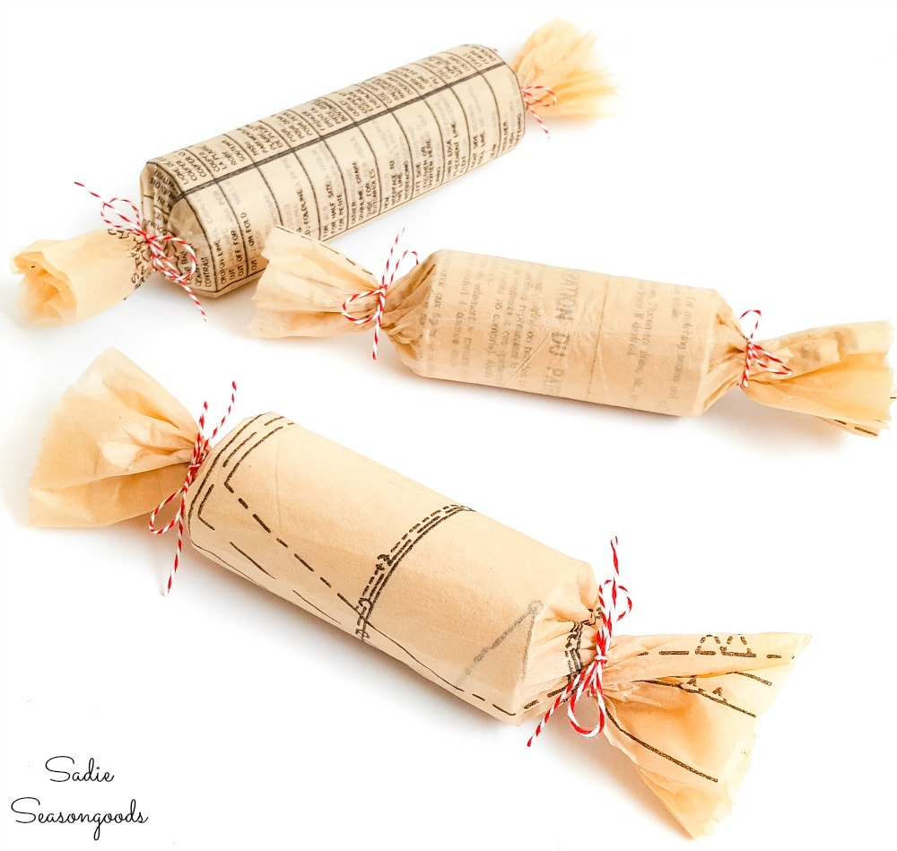 Eco friendly Christmas crackers