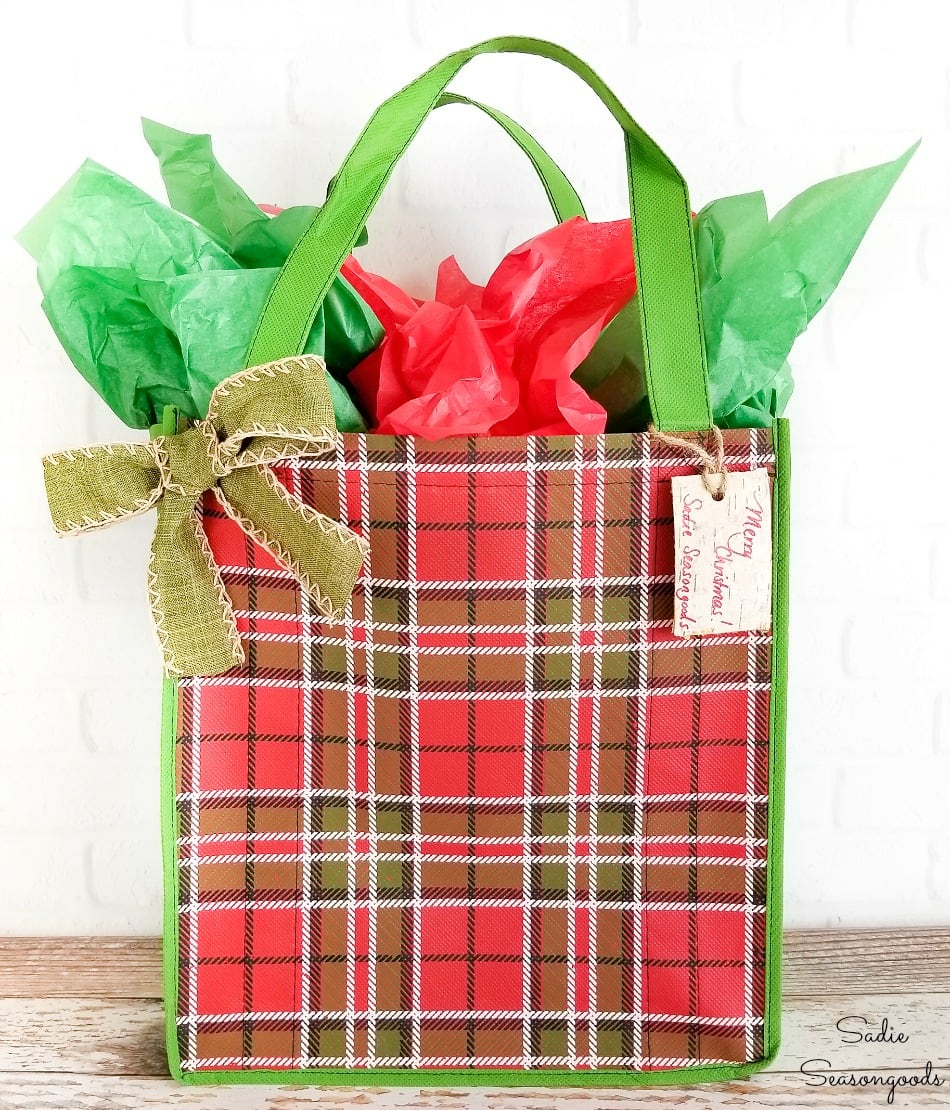 Eco friendly gift bags