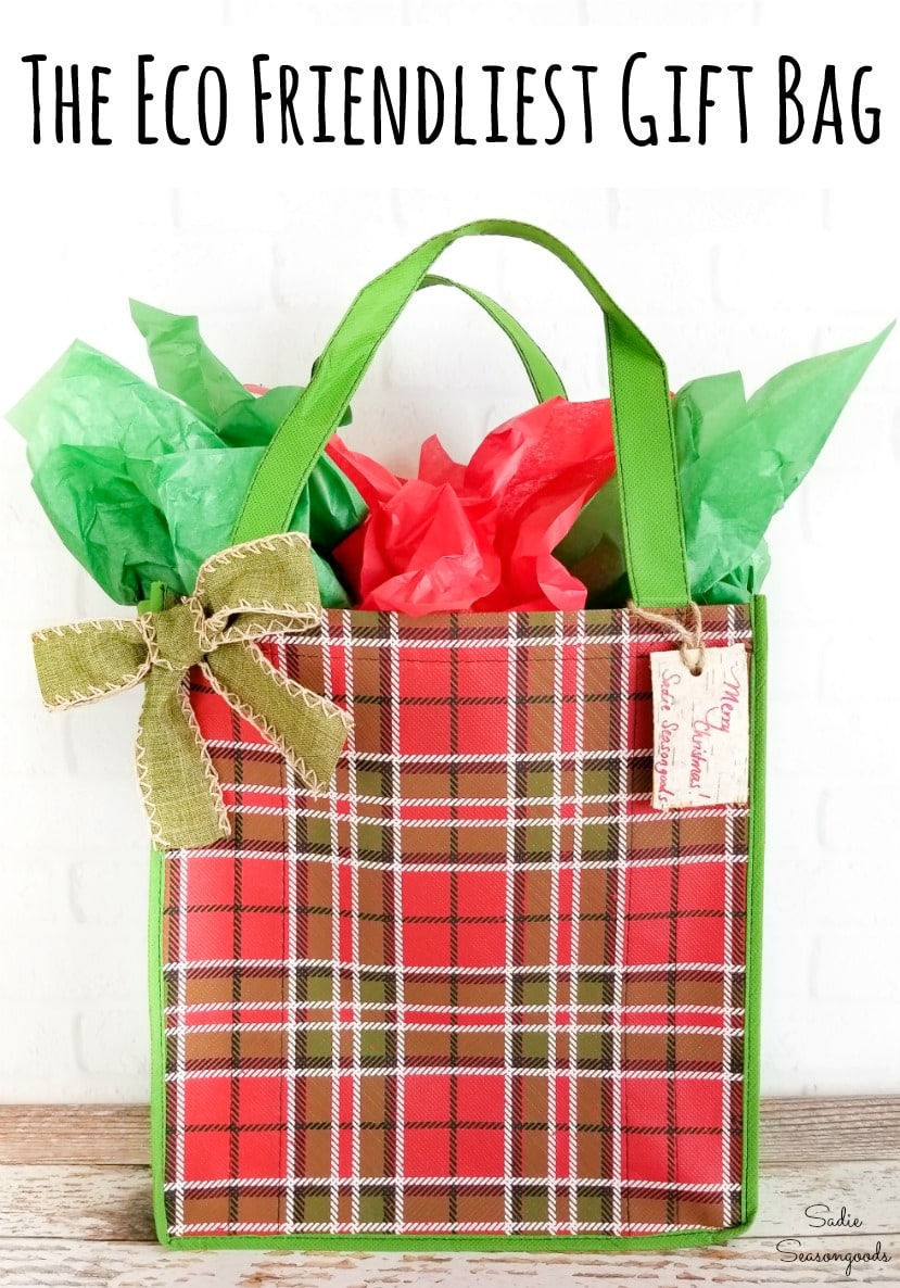 Sustainable gift wrapping and eco friendly gift bags